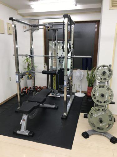 8月のパーソナルトレーニング
